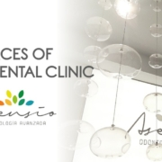 Spaces of a dental clinic